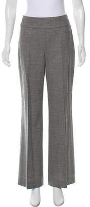 Akris Punto Wool High-Rise Pants
