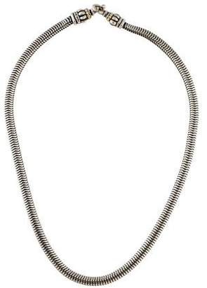 Lagos Two-Tone Snake Chain Necklace