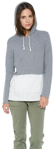 Trovata Birds of Paradis by Two Tone Hoodie