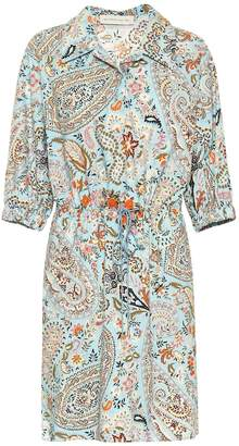 Etro Paisley cotton minidress