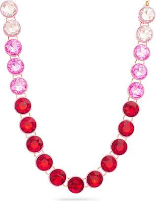 Steve Madden Pink Bib Necklace