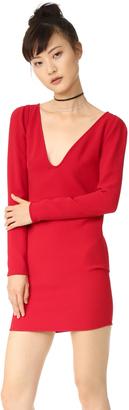 DSQUARED2 V Neck Dress $795 thestylecure.com