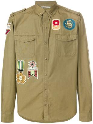 Valentino Military Insignia shirt