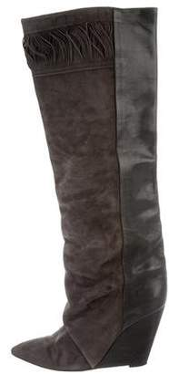 Isabel Marant Suede Knee-High Boots