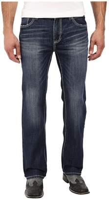 Rock and Roll Cowboy Pistol Straight Leg in Medium Vintage M1P8555 Men's Jeans