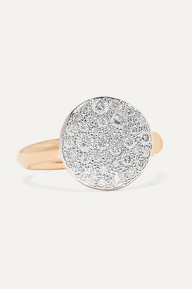 Pomellato Sabbia 18-karat Rose Gold Diamond Ring - 11