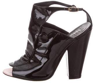 Givenchy Patent Leather Ankle Boots