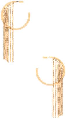 Ettika Hoop Chain Earrings $45 thestylecure.com