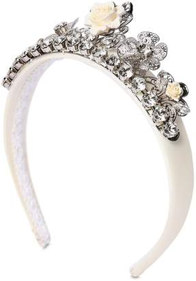 Dolce & Gabbana Crystal Crown Headband