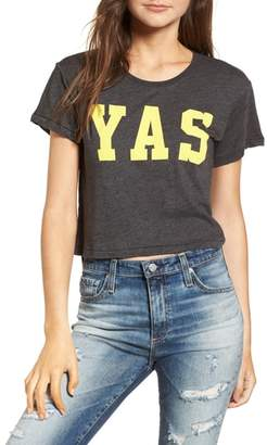 Wildfox Couture Yas Middie Tee