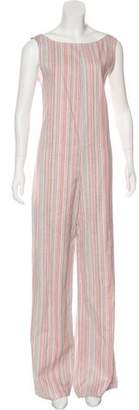 ddf5fc6b975 Wide Leg Jumpsuit Stripes - ShopStyle