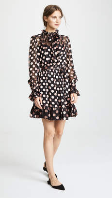 Zimmermann Unbridled Tie Neck Dress