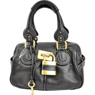 Chloé Paddington Black Leather Handbag bb5d3fb0e5735