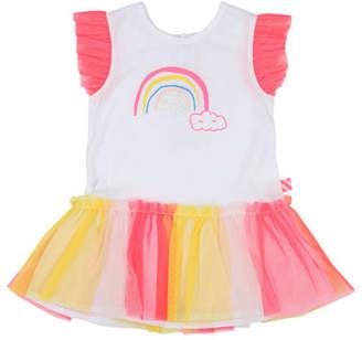 Billieblush Jersey & Tulle Rainbow Dress, Size 12M-3