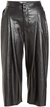 Natasha Zinko Cropped Leather Pants
