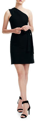 Maje Pré Rimbo Slim Fit One-Shoulder Mini Dress