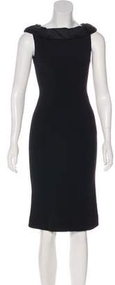 Diane von Furstenberg Scoop Neck Knee-Length Dress