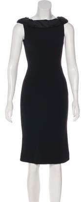 Diane von Furstenberg Scoop Neck Knee-Length Dress