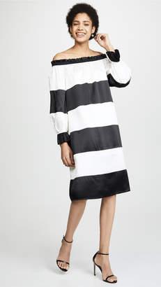 7ca4d7c6871926 Cynthia Rowley Shanley Striped Off Shoulder Dress