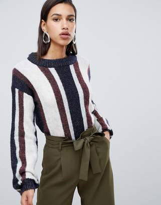 Vero Moda Striped Knitted Sweater