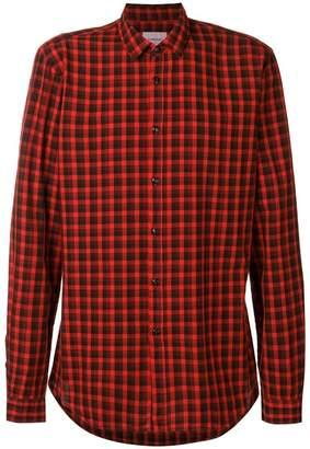 Dondup classic checked shirt
