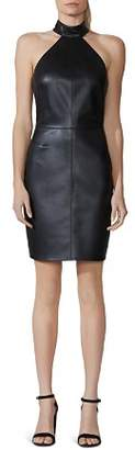 Bailey 44 Vig Faux Leather Sheath Dress
