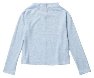 Joe Fresh Long Sleeve Mock Neck Top (Big Girls)