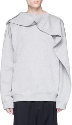 Y/Project Double collar sweatshirt