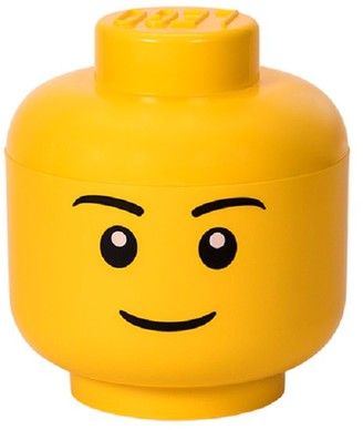 Lego Large Storage Head - Boy