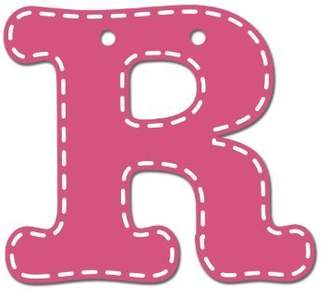 CoCalo Mix & Match Pink Hanging Letter, R by