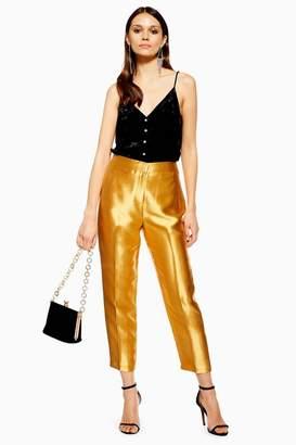 Topshop Satin Clean Peg Trousers