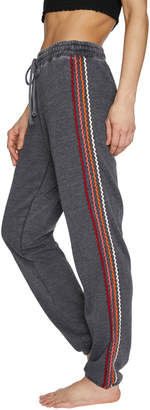 Betsey Johnson Zigzag Stripe Boyfriend Sweatpant
