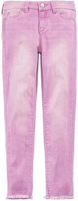 Celebrity Pink Frayed Hem Skinny Jeans, Big Girls