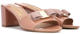 Salvatore Ferragamo Vara Bow patent leather sandals