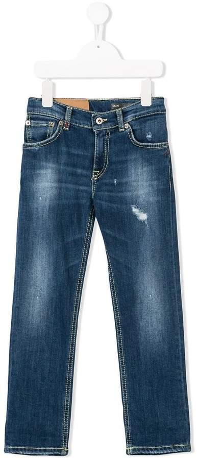 Dondup Kids straight-leg jeans