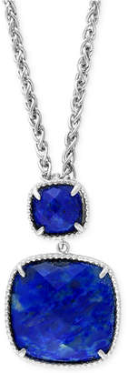 Effy Lapis Lazuli Pendant Necklace (18 ct. t.w.) in Sterling Silver