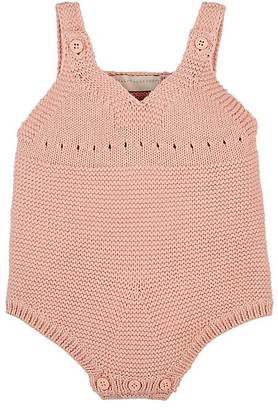 Stella McCartney Bunny-Appliquéd Cotton-Cashmere Bodysuit