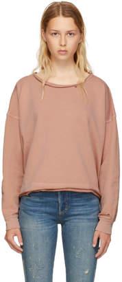 Amo Pink Boxy Sweatshirt