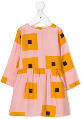 Bobo Choses squares print dress