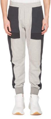 Alexander McQueen Men's Colorblock Jogger Pants
