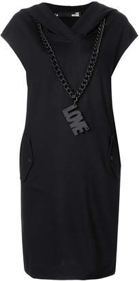 Love Moschino hooded dress