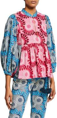 Figue Nora Moon Floral Blouse