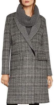 BCBGMAXAZRIA Valentina Glen Plaid Coat
