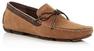 UGG Men's Bel-Air Nubuck Leather Moc Toe Loafers