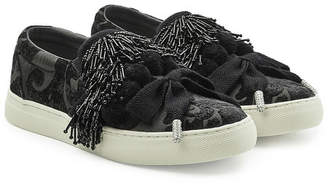 Marc Jacobs Mercer Pompom Embellished Sneakers