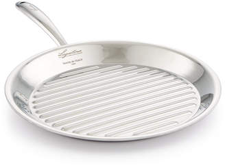 "Lagostina Stainless Steel 11"" Accademia Bistecchiera Grill"