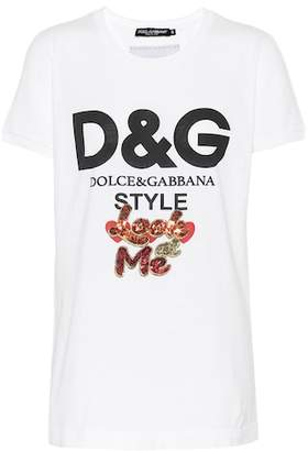 Dolce & Gabbana Look at Me cotton T-shirt