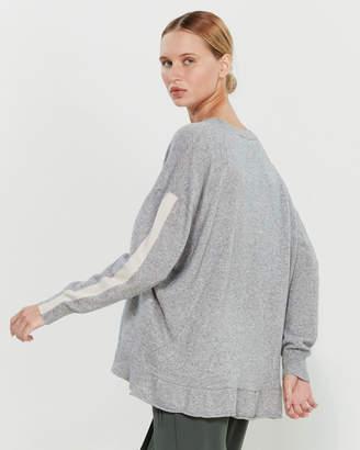 Liviana Conti Drop Shoulder Tunic Sweater