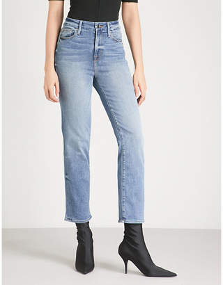 Good American Good Legs slim-fit skinny stretch-denim jeans