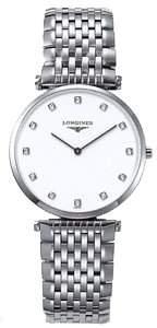 Longines Watches La Grande Classique with Diamond Hour Markers Men's Watch